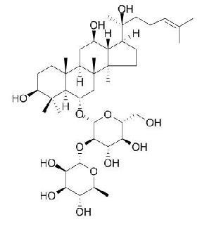 Ginsenoside-Rg2/人参皂苷Rg2(52286-74-5,C42H72O13) 98.5% 纯化研发定制
