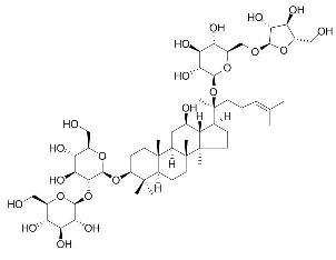 Ginsenoside-Rc/人参皂苷Rc(11021-14-0,C53H90O22)98.5纯化研发定制