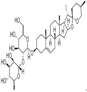 Prosapogenin A/次皂甙元 A(薯蓣次皂苷A)19057-67-1 C39H62O12 纯化研发定制