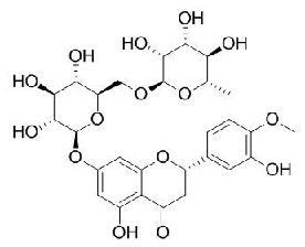 Hesperidin/橙皮苷(520-26-3.C28H34O15) 98.5% 纯化研发定制