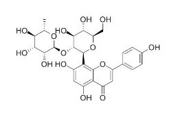 vitexin-2''-o-rhamnoside/牡荆素鼠李糖苷(64820-99-1,C27H30O14) 98.5%