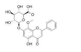 Wogonoside/汉黄芩苷(51059-44-0,C22H20O11) 98.5% 纯化研发定制