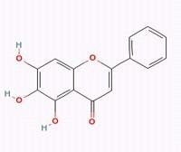 Baicalein/黄芩素(491-67-8,C15H10O5) 98.5% 纯化研发定制
