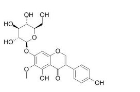 Tectoridin/射干苷(611-40-5, C22H22O11) 98.5% 纯化研发定制