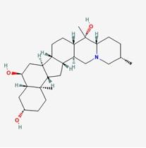 Peimine/贝母素甲(23496-41-5,C27H45NO3) 98.5% 纯化研发定制