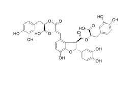 Salvianolic acid B/丹酚酸B 有机合成化合物药物 flash快速纯化系统 中低压制备色谱 制备液相色谱