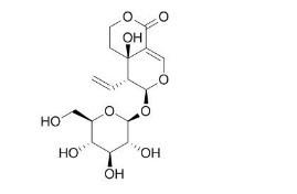 Swertiamarin/獐芽菜苦苷 (17388-39-5,C16H22O10) 98.5% 纯化研发定制