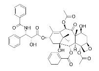 Paclitaxel/紫杉醇 (33069-62-4,C47H51NO14) 98.5% 纯化研发定制
