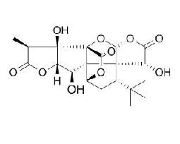 Ginkgolide B/银杏内酯B (15291-77-7,C20H24O10) 98% 纯化研发定制