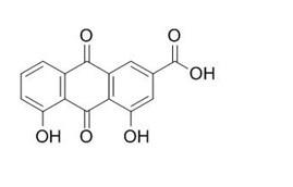 Rhein/大黄酸 (478-43-3,C15H8O6) 98.5% 纯化研发定制