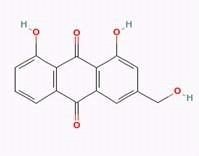Aloe-emodin/芦荟大黄素 (481-72-1,C15H10O5) 98.5% 纯化研发定制