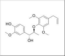 Myrislignan/肉豆蔻木脂素 (171485-39-5,C21H26O6) 98.5% 纯化研发定制